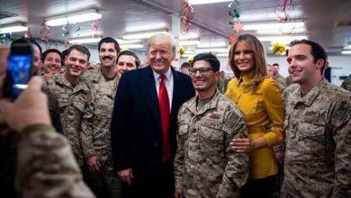 Photo of في أول زيارة لمنطقة صراع.. ترامب يتفقد القوات الأمريكية بالعراق