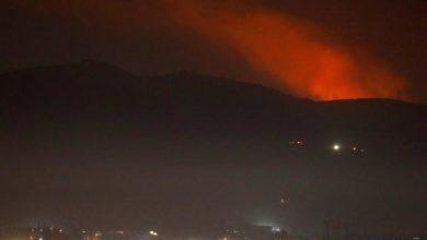 Photo of وسائل إعلام سورية : الطيران الإسرائيلي هاجم أهدافا قرب دمشق