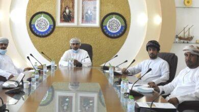 Photo of إجتماع مجلس إدارة فرع غرفة تجارة وصناعة عمان بمحافظة الظاهرة..
