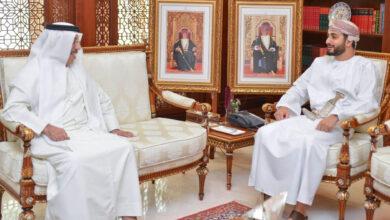 Photo of سمو السيد ذي يزن بن هيثم آل سعيد يستقبل سفير دولة الإمارات العربية المتحدة..