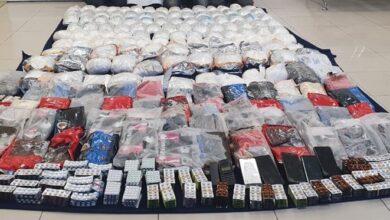 صورة شرطة عمان السلطانية تضبط 170 كيلوجرامًا من المخدرات..