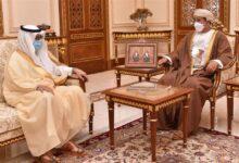 صورة وزير المكتب السلطاني يستقبل سفير المملكة العربية السعودية..