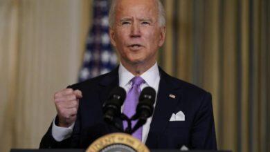 صورة البيت الأبيض: بايدن يريد حل الدولتين لتحقيق السلام بين إسرائيل والفلسطينيين..