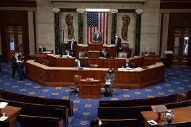 """صورة الجمهوريون يتحدون بمجلس الشيوخ.. فشلوا بأول محاولة لوقف محاكمة ترامب التي وصفوها بأنها """"وُلدت ميتة"""".."""