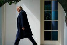"""صورة ترامب يتخذ قراراً """"لم يكشف عنه"""" قبل رحيله.. أصدر تخفيفاً للعقوبات عن رجل أعمال إسرائيلي.."""