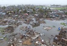 صورة إعصار (إيلويز) يودي بحياة تسعة أشخاص في موزمبيق..