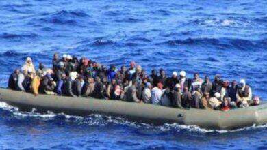 صورة الأمم المتحدة: غرق 43 مهاجرا قبالة ليبيا في أول حادث بالبحر المتوسط هذا العام..